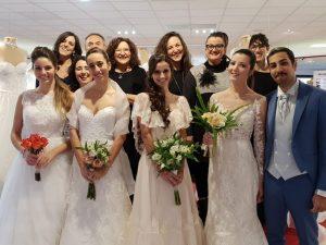 Gruppo Magico Si con spose e sposi
