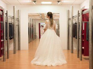 Una sposa con abito Magico Si Canossa Reggio Emilia